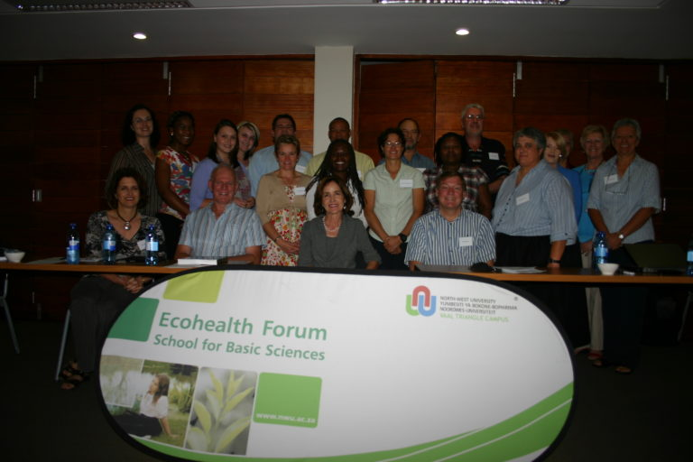 Some teammembers presenting at the Forum-An NWU-Vaal initiative from the IMD-approach