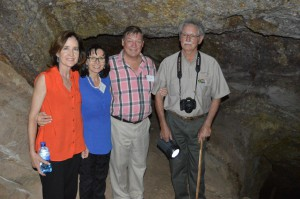 Historians visited the Vredefort Dome with oom Jan as guide 2014